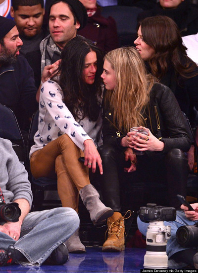 MICHELLE RODRIGUEZ and CARA-DELEVINGNE