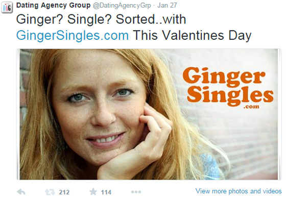 Ginger Singles Ginger Single Sorted
