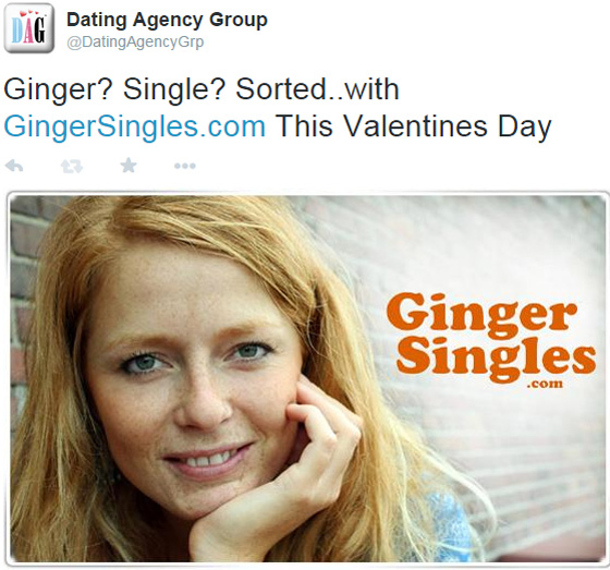 Ginger only dating site