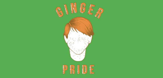 Ginger Pride Parade