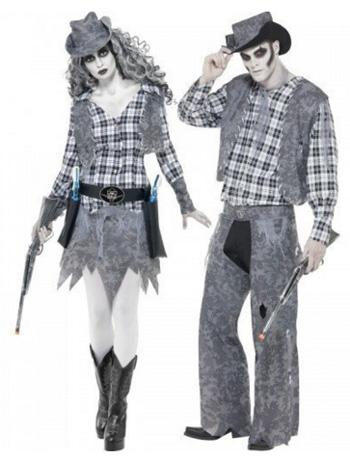 Halloween Cowboy & Girl