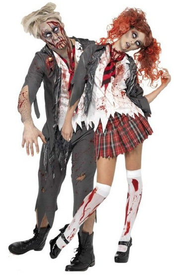 Zombie School Girl & Boy