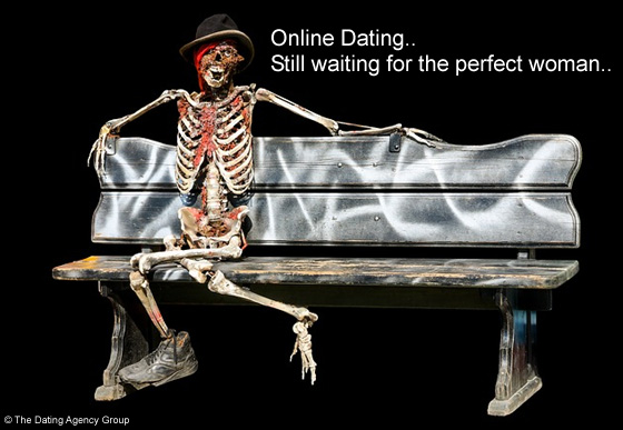 Man waiting for perfect woman