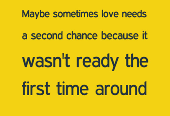 Love Second Time Around