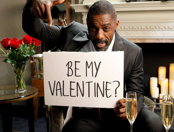 Idris Elba Be My Valentine