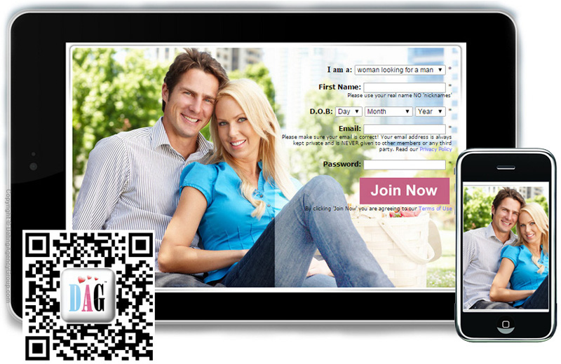 Dating on your mobile and tablet with the Dating Agency Group